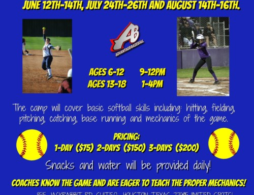 Summer Softball Camps