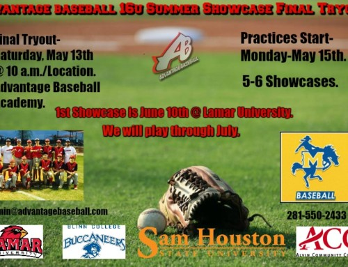 Summer Showcase Tryouts
