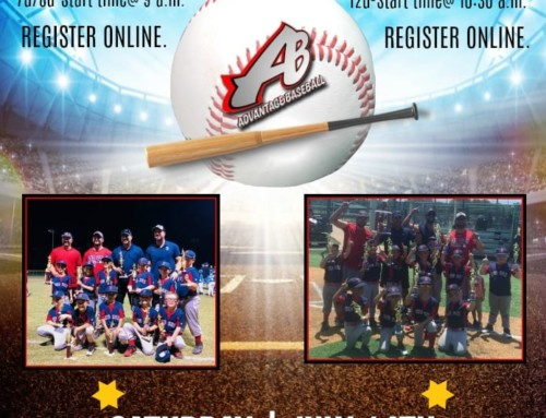 7U, 8U, 12U Tryouts – Saturday July 14, 2018