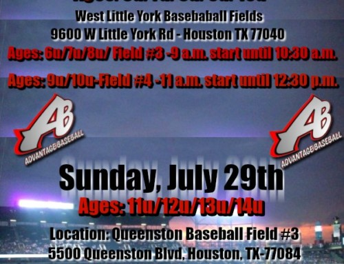 Organization Tryouts – Sunday July 28 and 29, 2018